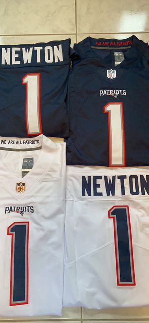 Patriots Cam Newton jerseys for Sale in Newington, CT