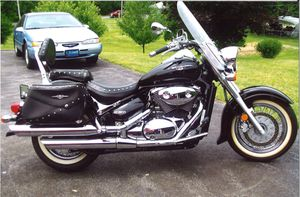 2005 Suzuki Boulevard C50T 800cc motorcycle $2,600 OBO for Sale in Shippensburg, PA