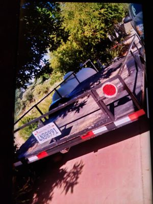 6x10ft utility trailer 2014 for Sale in Lakeside, CA