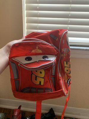 McQueen kids backpack for Sale in Lakeland, FL