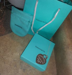 Brand new Tiffany &co necklace I spin 280 I'm just asking 200 for Sale in Herriman, UT