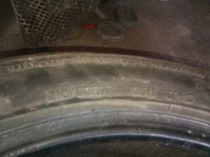 Two 17in tires for Sale in Oelwein, IA
