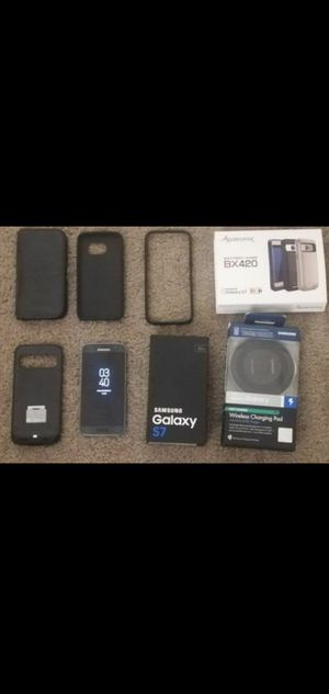 Galaxy S7 (Everything included) for Sale in Tempe, AZ