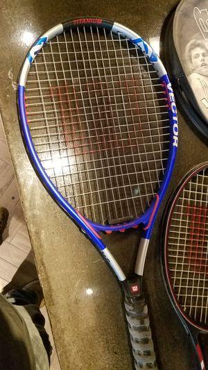 Wilson Vector Titanium Tennis Rackets for Sale in Mesa, AZ