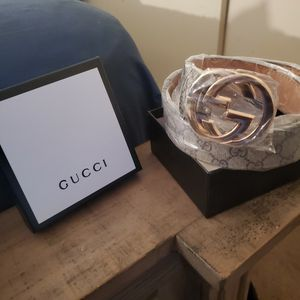 Band new Gucci belt comes with box and dust bag for Sale in Perris, CA