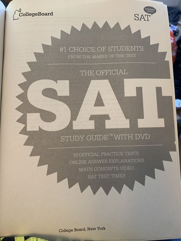 College Board SAT study guide