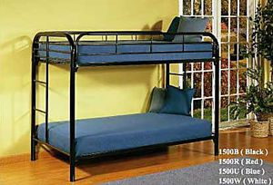 Black twin bunk bed ( new) for Sale in San Mateo, CA