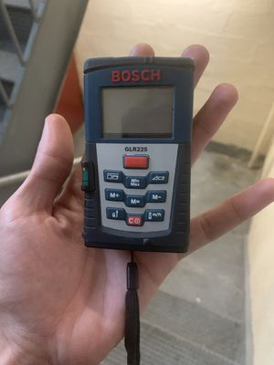 Bosch distance measurer for Sale in The Bronx, NY