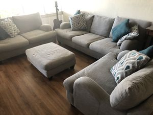 Rosalie Stone Grey Couches for Sale in Newark, CA