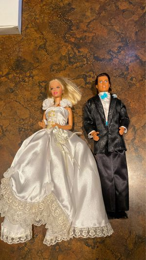 Barbie and Ken bride and groom for Sale in Gresham, OR