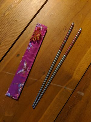 Authentic Japanese Decorative Chopsticks for Sale in Towanda, KS