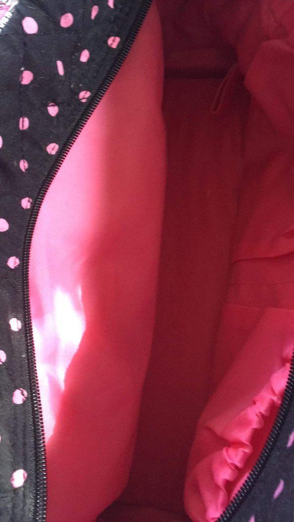 Designer diaper bag for a girl