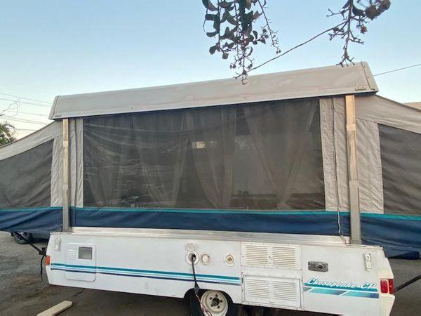 1995 Coleman pop up tent trailer 5200