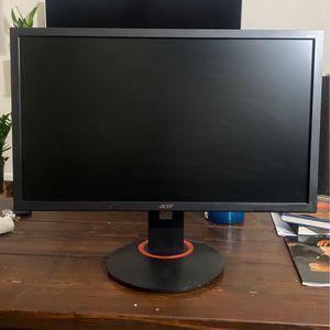 Acer XFA240 144hz 1080p 24 inch gaming monitor for Sale in Arlington, VA