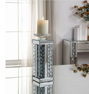 Brand new modern design glass mirrored candleholder for Sale in Atlanta, GA