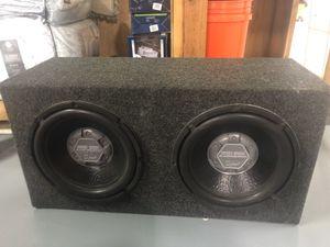 """Audiobahn Dual 12"""" Speaker Subwoofer for Sale in Woodbridge Township, NJ"""