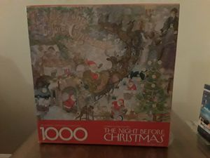 Springbok Puzzle- The Night Before Christmas for Sale in Schaumburg, IL