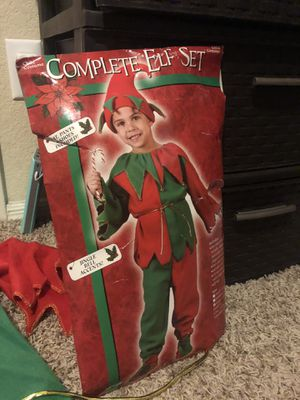 Complete Elf Set costume Halloween/ Xmas for Sale in Las Vegas, NV