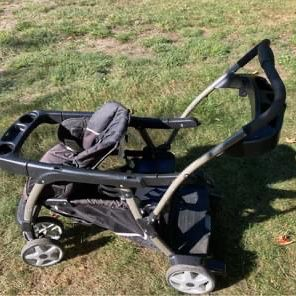 Graco Sit N Stand Click Connect Double Stroller for Sale in Leominster, MA