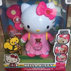 New in Box Walk with Me Robot Hello Kitty lights up plays music for Sale in City of Industry, CA