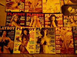 Lot of 10 playboys including Pam Anderson for Sale in Carbondale, PA