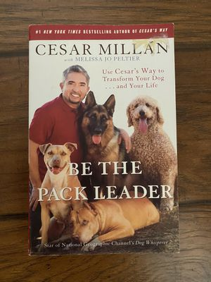 "Cesar Millan's ""Be the Pack Leader"" Paperback Book for Sale in Mooresville, NC"