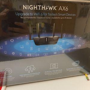 NETGEAR Nighthawk 6-Stream AX4300 WiFi 6 Router - BRAND NEW UNOPENED for Sale in Beaverton, OR