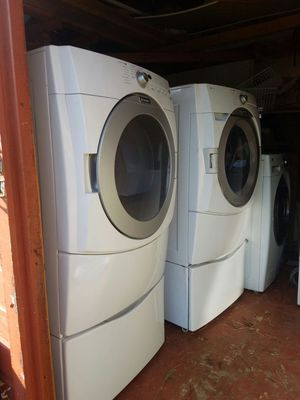 Washer and electric dryer for Sale in Temple Hills, MD