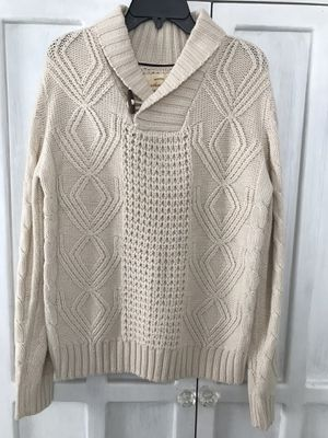 Men's Cable Knit Sweater Size Small for Sale in San Jose, CA