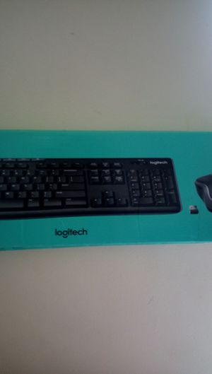 Brand New Logitech wireless keyboard with wireless mouse for Sale in Chicago, IL