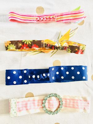 New girls kids Baby toddler 1 2 3 years old head band and belt clothing accessory set 4 pc for Sale in St. Petersburg, FL