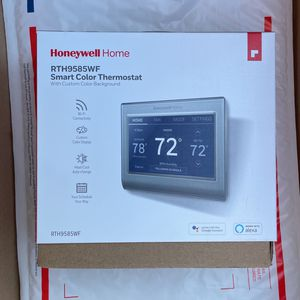 Honeywell Home - Smart Color Thermostat with Wi-Fi Connectivity - Silver for Sale in Freehold Township, NJ