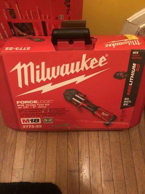 Milwaukee M18 press tool kit. (BRANDNEW) for Sale in Washington, DC