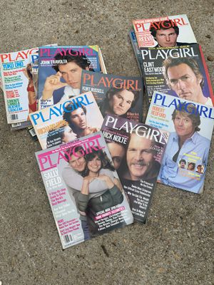 PlayGirl 1980s Collection for Sale in Hampton, VA