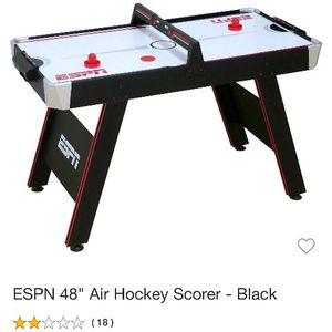 ESPN Air Hockey Table Assembled New for Sale in Vernon, CA