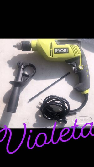 Ryobi hammer drill for Sale in Los Angeles, CA