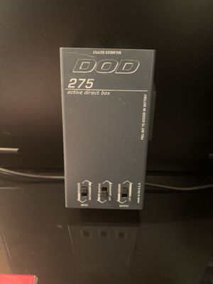 DOD 275 Active Direct Box for Sale in Richmond, TX
