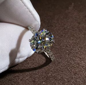 NEW 3.0ct Moissanite Engagement 925 Sterling Silver for Women SIZES 6-10 for Sale in Fresno, CA