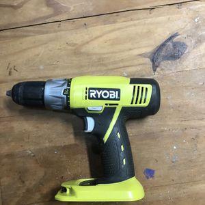 Ryobi 18 V Drill-Driver Tool Only for Sale in Virginia Beach, VA
