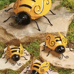 Set of 4 Bees . Add an accent to any garden .Pick Up Only At Rainbow & Blue Diamond. See All Photos. Read description. for Sale in Las Vegas, NV
