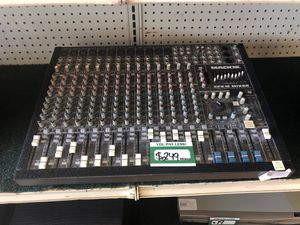 Mackie CFX16 mixer for Sale in Pasadena, TX