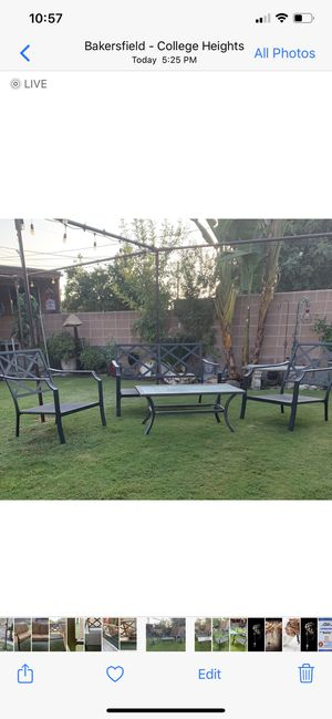 Four piece Outdoor Patio Furniture 🪑. for Sale in Bakersfield, CA