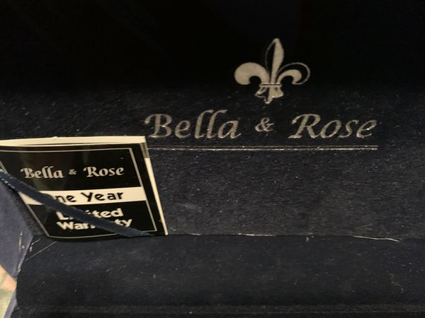 Brand New Bella & Rose Men's Watch, Pen & Money Purse Gift Set