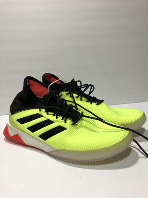Adidas shoes size 9 green yellow for Sale in Los Angeles, CA