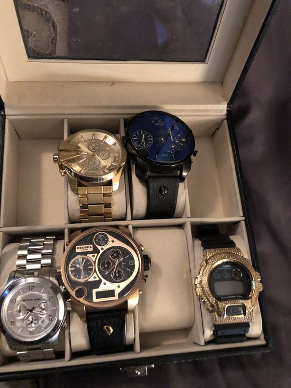 Watches offer up