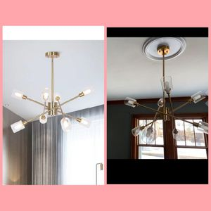 Brass Chandelier 8 Lights for Sale in Barstow, CA