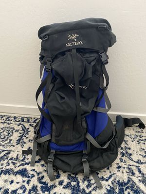 Hiking backpack Arc'teryx Bora 80 for Sale in Sun City, AZ