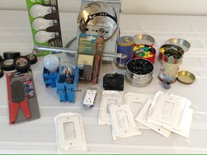 Box of electrical items for Sale in Braintree, MA