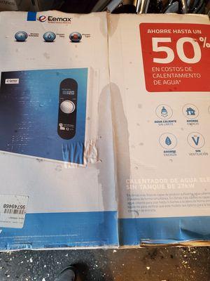 Eemax tankless water heater for Sale in Ellenwood, GA
