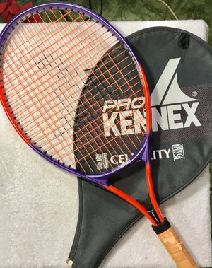 "Pro Kennex Wide Body ""Super Champ"" Tennis Racquet with 4"" Grip & Vibration Absorber for Sale in Madison, OH"